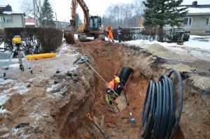 Vee ja kanalisatsioonitrasside ehitamine 08.03.2016
