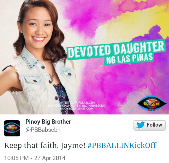 jayme PBB All In Official Housemates (Photos)