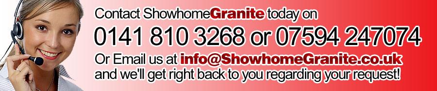 Granite Worktop Glasgow from Showhome Granite Galsgow