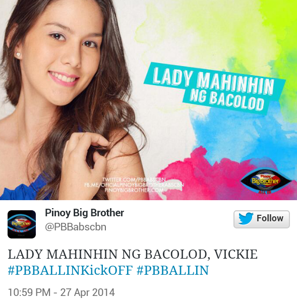 vickie PBB All In Official Housemates (Photos)