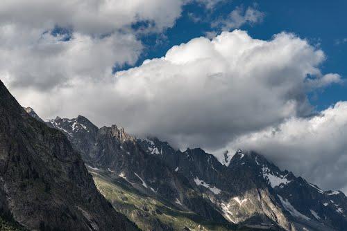 Monte Bianco - Val Veny, Courmayeur, Italia - 10 Agosto 2016