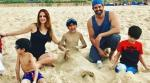 Hrithik, Sussanne holiday with sons in Dubai. See pics