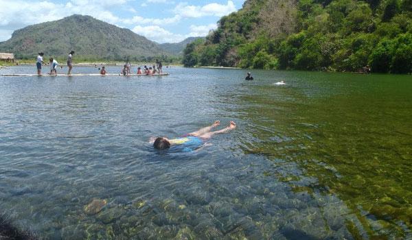 serene river in Tarlac City