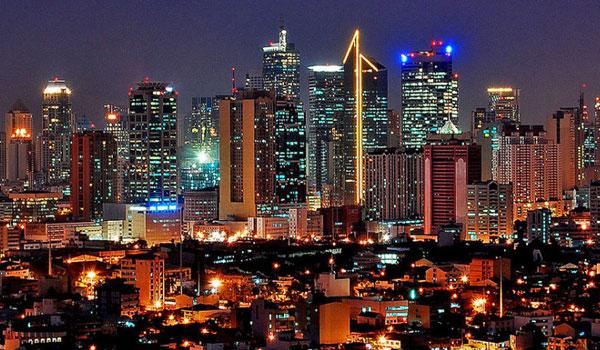 Night view of the City of Makati