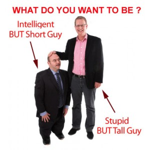 Tall Guy v/s Short