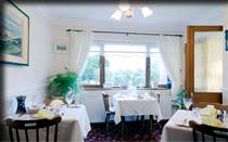 Dining room in Moher House B&B, West of Ireland