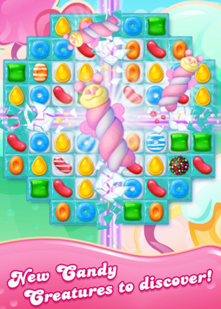 New Features Candy Crush Jelly Saga For PC
