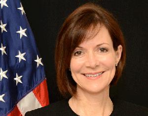 Mme l'Ambassadeur des Etats-Unis en Belgique DeniseCampbell Bauer