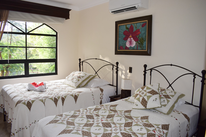 A beautiful bedroom at Casas del Toro.