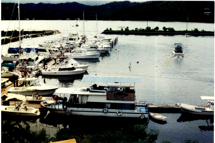 A shipshape marina — those were the days.