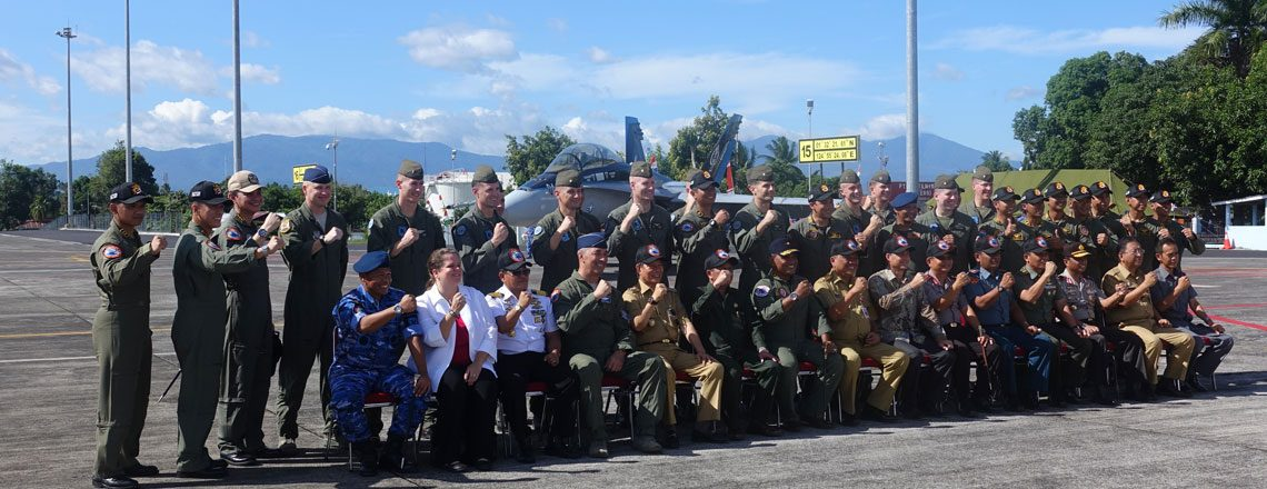 US-Indonesian Air Forces Begin Training Exercises in Manado