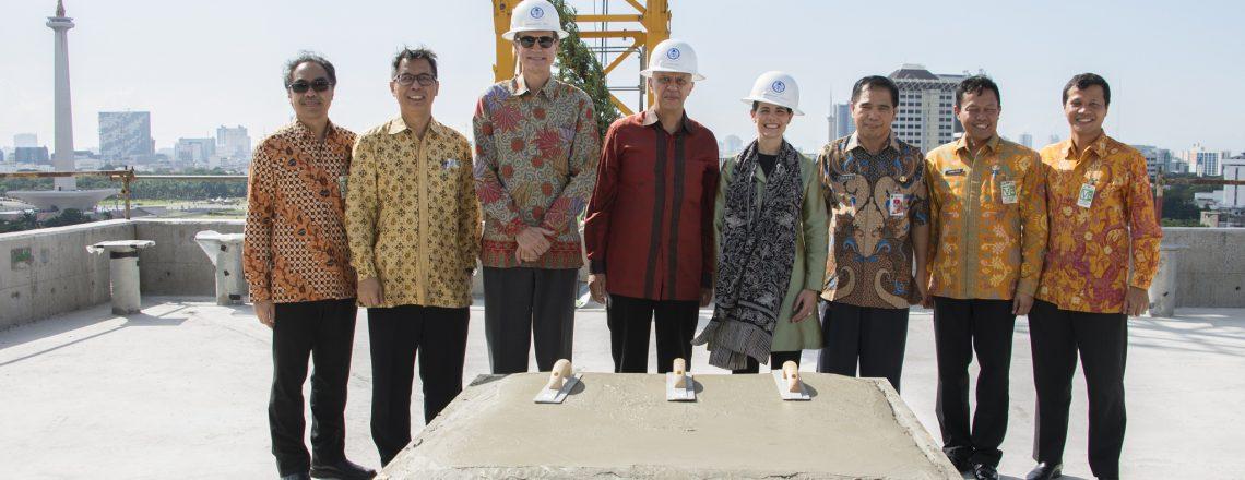 Gedung Baru Kedubes AS Jakarta Wujud Komitmen AS untuk Pererat Hubungan dengan Indonesia