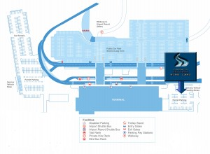 DPHC Airport Map