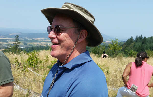 Councilor Bob Stacey at Chehalem Ridge