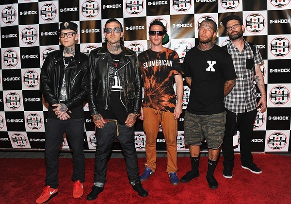 Eminem's 'Best Friend' collaborator Yelawolf attends G-Shock Shock The World 2013 at Basketball City on August 7, 2013 in New York City.