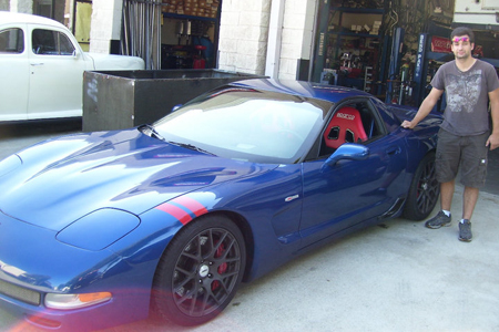 Chevrolet Corvette C5 Z06 Race Car