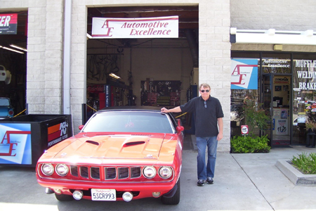 1971 Plymouth Baracuda - Auto Repair Huntington Beach, CA