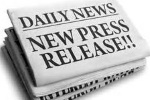 "Stock image of a news paper reading ""New Press Release"""