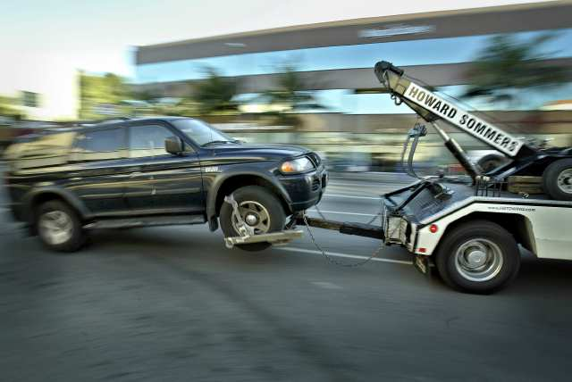 What do you do when the towing company steals your car?