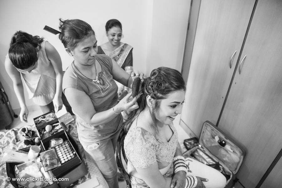 Elegant Sikh Wedding Mumbai, Sikh Wedding Photography Mumbai - Bhakti and Oscar, Best Sikh Wedding photographers India, Best Sikh Wedding photographers Mumbai, Best Candid Sikh Wedding Photography, Best Gurudwara Wedding, Best Sikh Bridal Portrait, Best Sikh Bridal makeup, Clickit Studio.