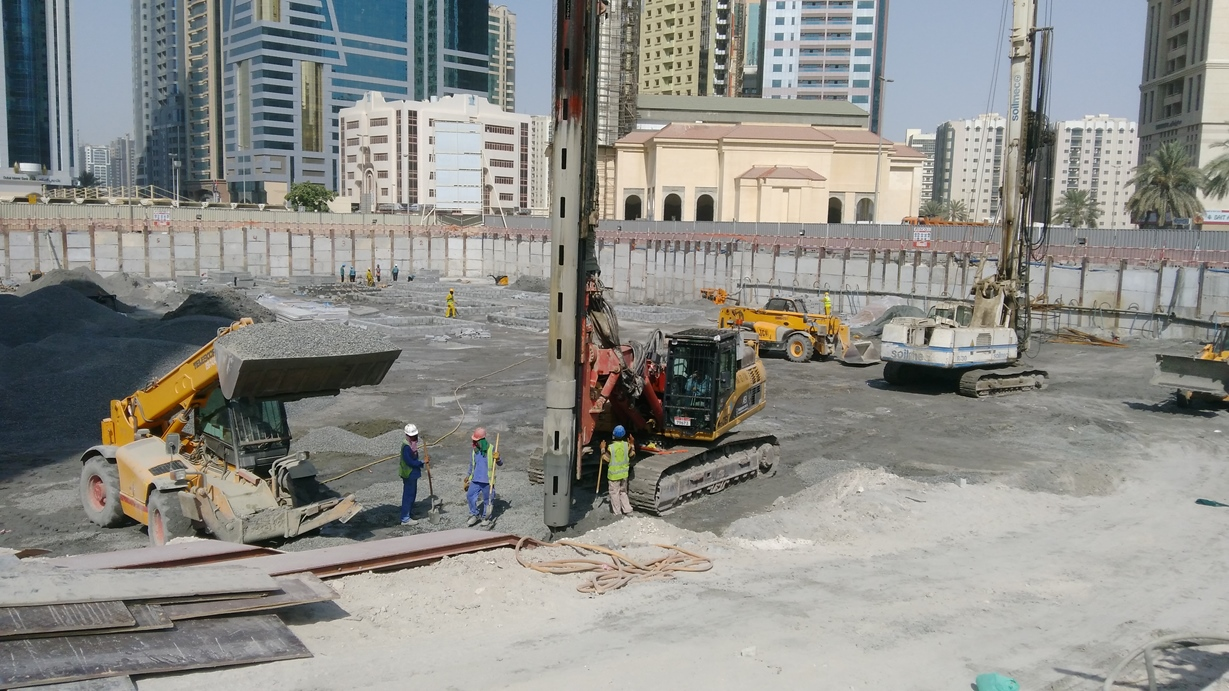 Vibro Replacement - Stone Columns  picture 1- UNITED ARAB EMIRATES UAE  -SHARJAH -  Lulu Hypermarket