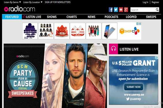 listen music online radio dot com online radio