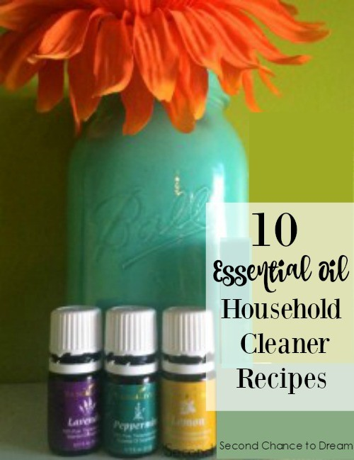 Second Chance to Dream: 10 Essential Oil Household Cleaner Recipes #essentialoil