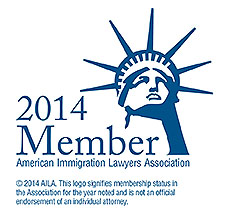 Proud member of the America Immigration Lawyers Association