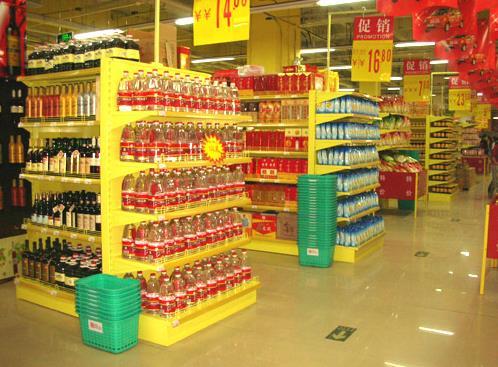 潍坊高密华锐超市货架案例