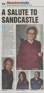 Shomshukla in Absolut India 27th Nov 2013 142x300 Some more Press joining in the celebration. (27th Nov. 2013) : )