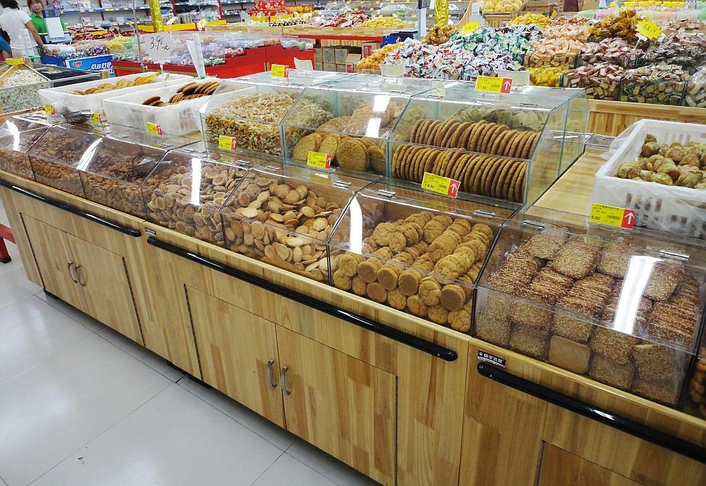 谷德佳乐家潍坊超市货架案例