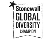 Stonewall Global Diversity Champion logo