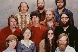 چه بر سر عکس معروف کمپانی مایکروسافت در سال 1987 آمد؟