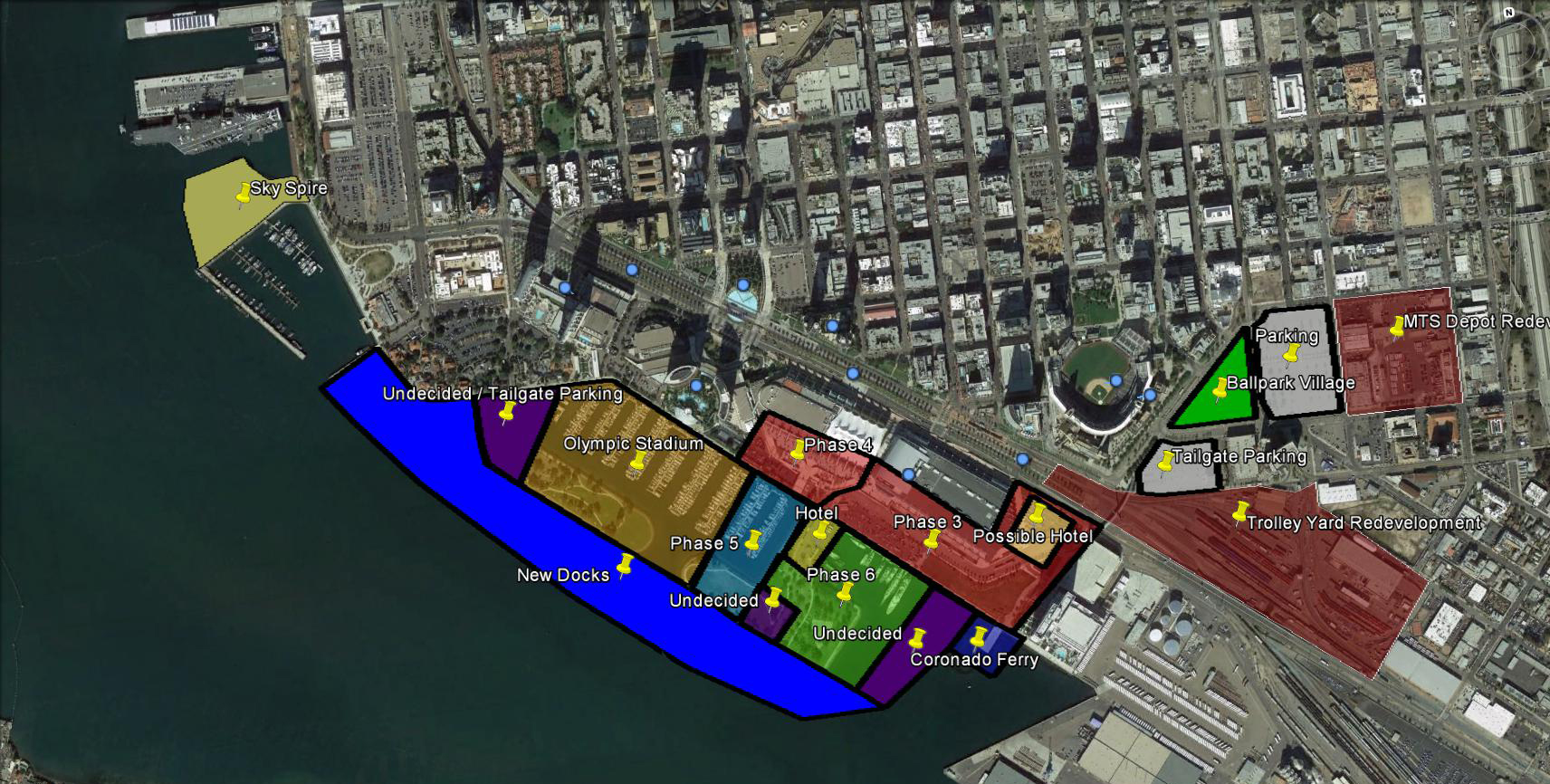 Option 2 Stadium Zoning