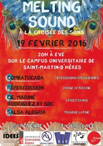 AFFICHE MELTING SOUND