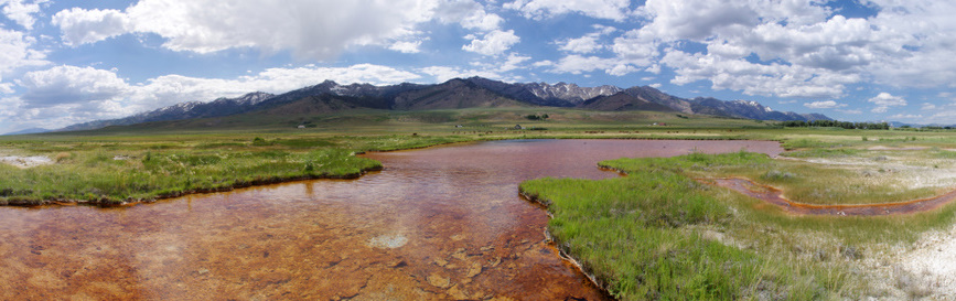 Hot Springs in Ruby Valley, by Janel Johnson, NNHP