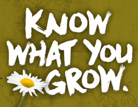Be A Responsible Gardener - Learn More >