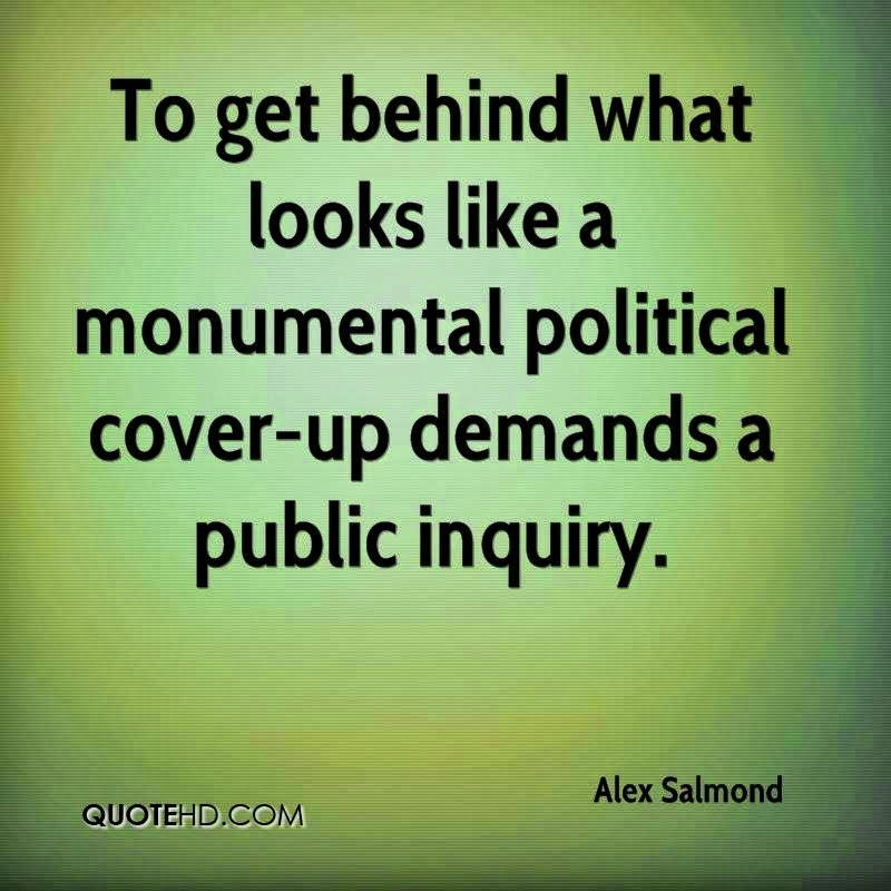 THE HYPOCRISY OF ALEX SALMOND
