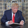 Twitter users parody photo of Trump writing his own inaugural speech