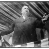 President William H. Taft giving a speech believed to be the one described in the New York Times, April 26, 1912.