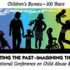 Logo from the 18th National Conference on Child Abuse and Neglect.