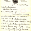 A letter received by the Bureau dated April 28, 1915.