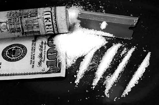 cocaine ready to snort