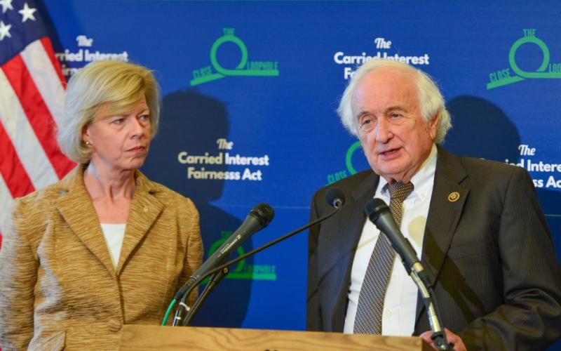 Levin, Baldwin, Patriotic Millionaires: Close the Carried Interest Loophole