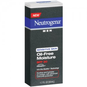 Neutrogena Men Sensitive Skin Oil-Free Moisture