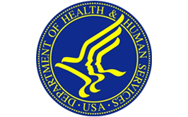Department of Health and Human Services | U.S.A. blue circle logo