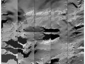 Comet landing site  Credit: ESA/Rosetta/MPS for OSIRIS Team MPS/UPD/LAM/IAA/SSO/INTA/UPM/DASP/IDA