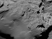 Comet from 8.9 km – narrow-angle camera  Credit: ESA/Rosetta/MPS for OSIRIS Team MPS/UPD/LAM/IAA/SSO/INTA/UPM/DASP/IDA