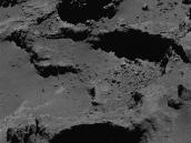 Comet on 31 July 2016 – OSIRIS narrow-angle camera  Credit: ESA/Rosetta/MPS for OSIRIS Team MPS/UPD/LAM/IAA/SSO/INTA/UPM/DASP/IDA