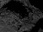 Comet on 3 May 2016 – OSIRIS narrow-angle camera  Credit: ESA/Rosetta/MPS for OSIRIS Team MPS/UPD/LAM/IAA/SSO/INTA/UPM/DASP/IDA